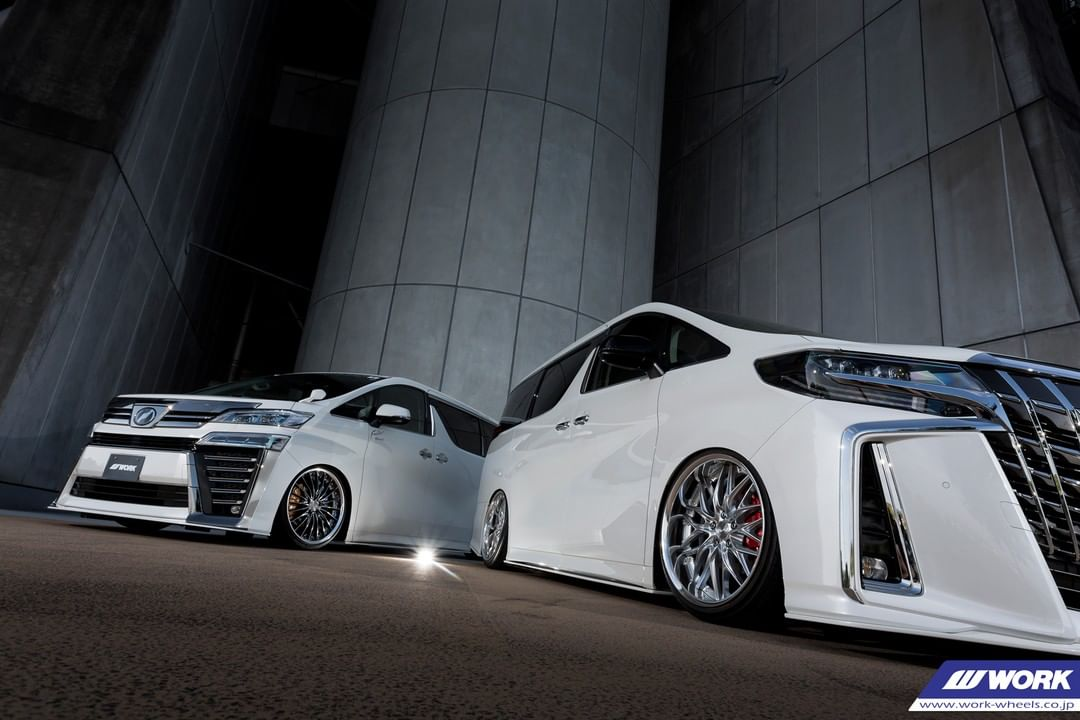 Work Wheels Japan: @forte_special japan Toyota Vellfire and