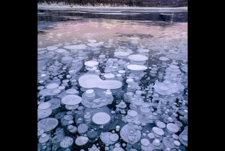 Who's keen to discover the secret of these #icebubbles?⠀ From March 12 to March ...