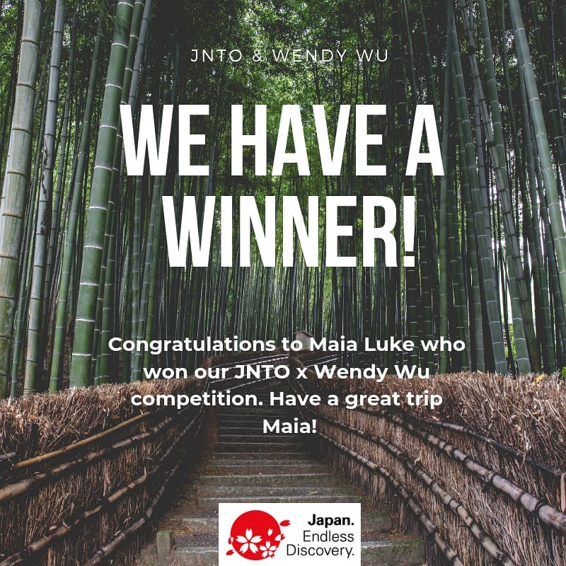 Maia Luke of Sydney is the lucky winner of our @wendy_wu_tours  competition, whi...