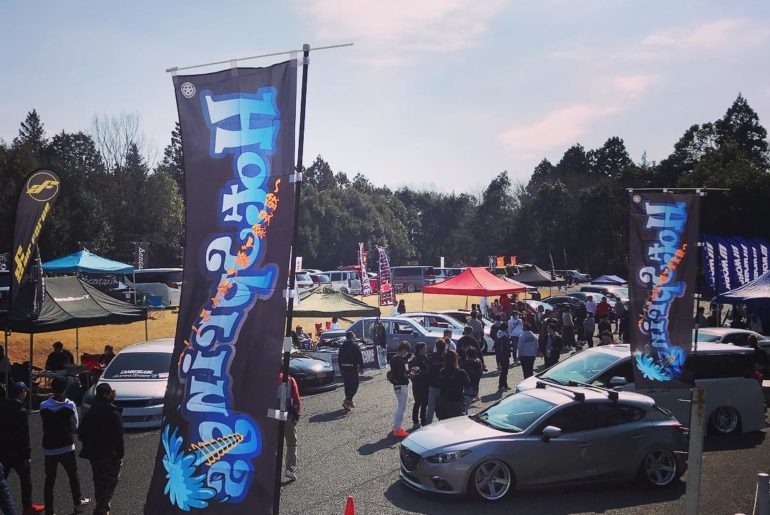 HotSprings 4th in Ibaraki today!!  WORK Wheels only event!  Please enjoy! #artof...