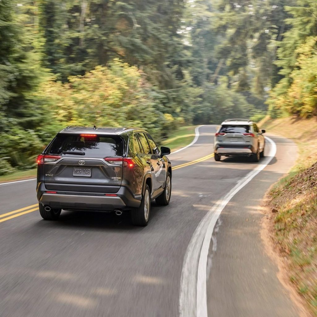 Leave a lasting impression with available chrome-tipped dual exhaust. #RAV4 #Let...
