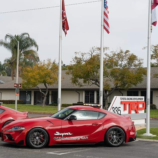 #ICYMI Transporting #Supra pace cars from #TRD to Las Vegas Motor Speedway with ...