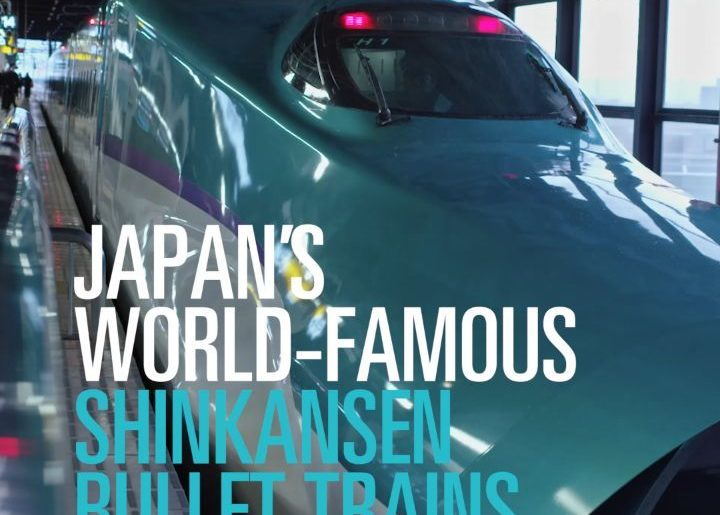FINE DINING ON THE MOVE Japan's world famous Shinkansen bullet trains offer trav...