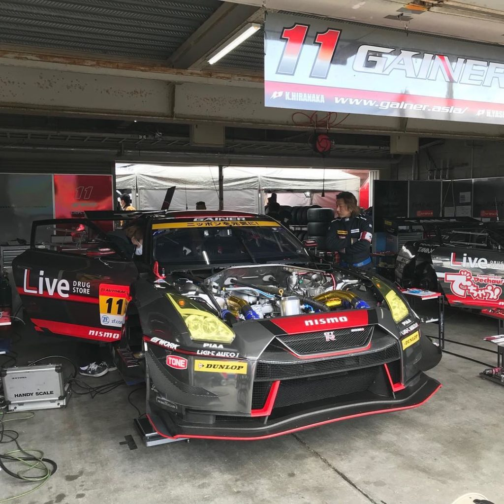 @supergt_official  SUPER GT 公式テスト ただ今、岡山国際サーキットでは SUPER GT公式テストが行われて おります!  WORK...