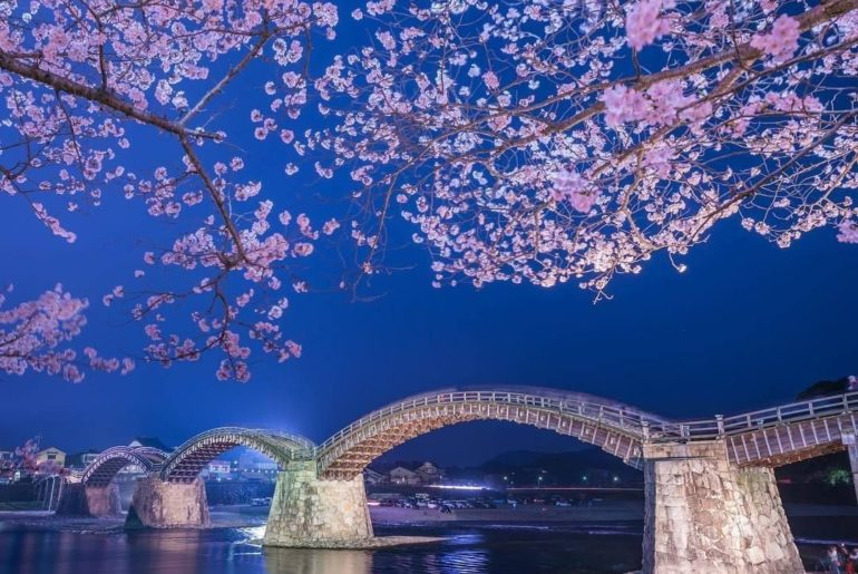 Imagine how beautiful it will be when the cherry trees lining the river bank com...