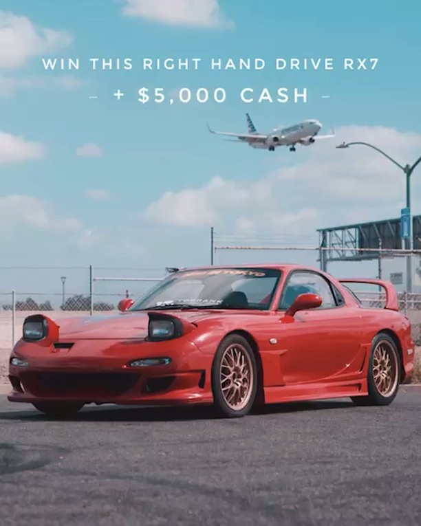 How would winning this RX-7 and $5,000 change your life? Be sure to visit our we...