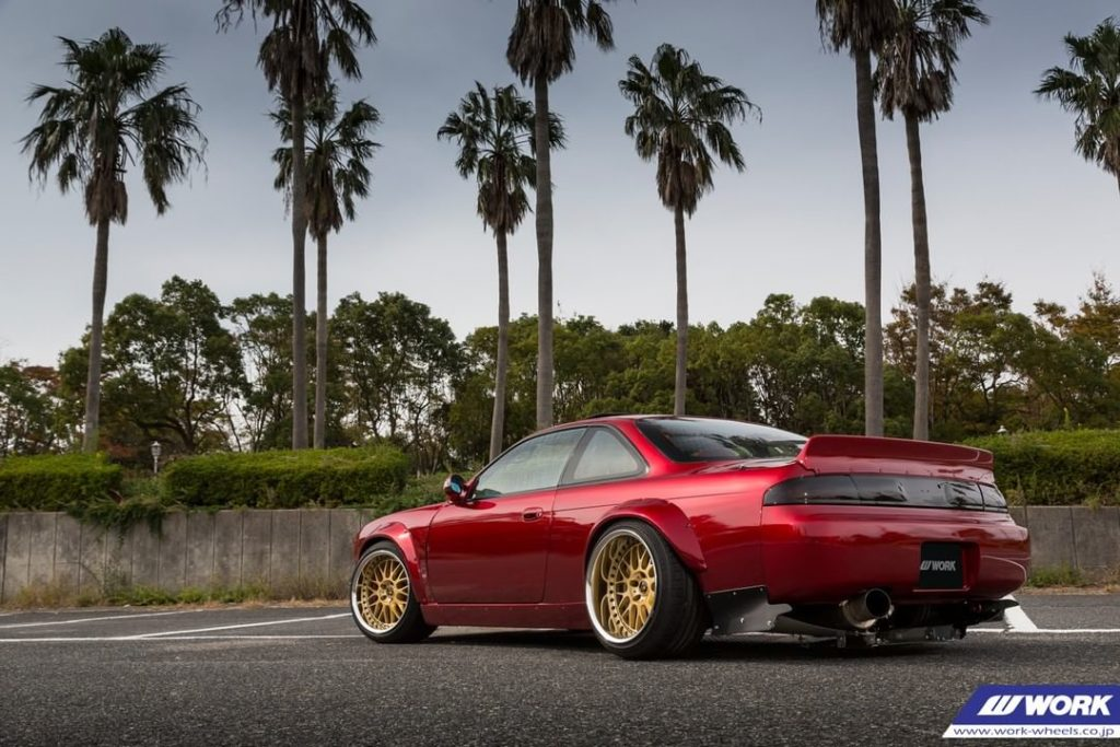 AITO NET Nissan S14 on WORK VS XX #artofwheel #vsxx...