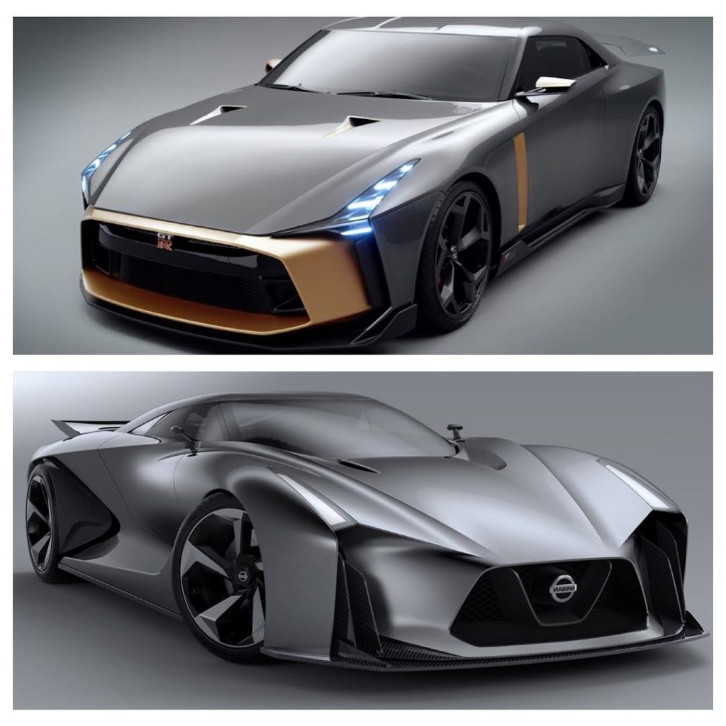 Top (GT-R50) or bottom (2020 concept)? Photo  @nissan . . . . . Follow the Crew:...