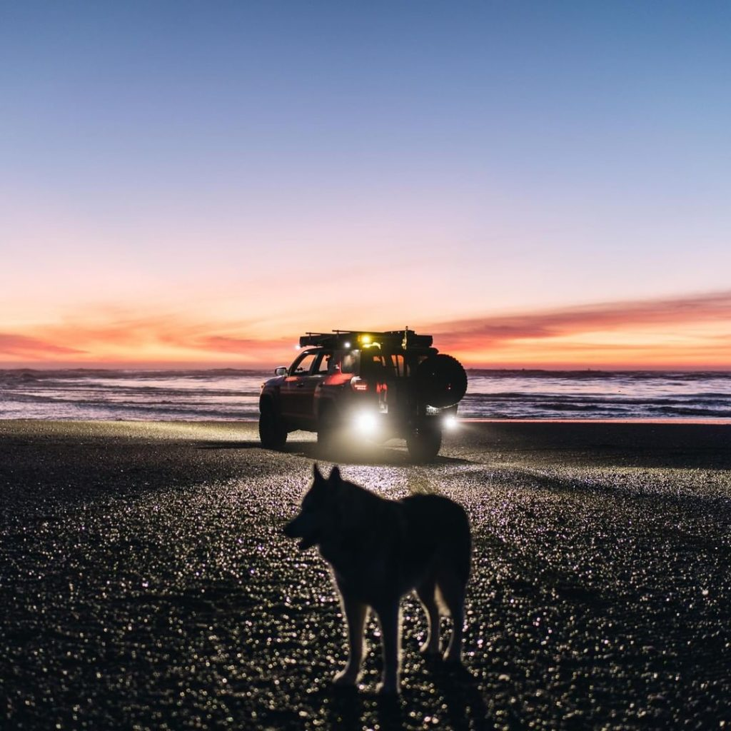 There's a big, beautiful world out there. #LetsGoPlaces #4Runner @loki...