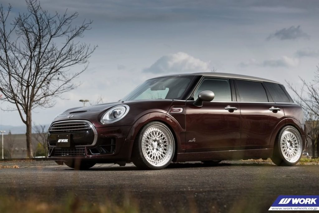 Ms FACTORY Mini on WORK Gran Seeker CCX #artofwheel #ccx...