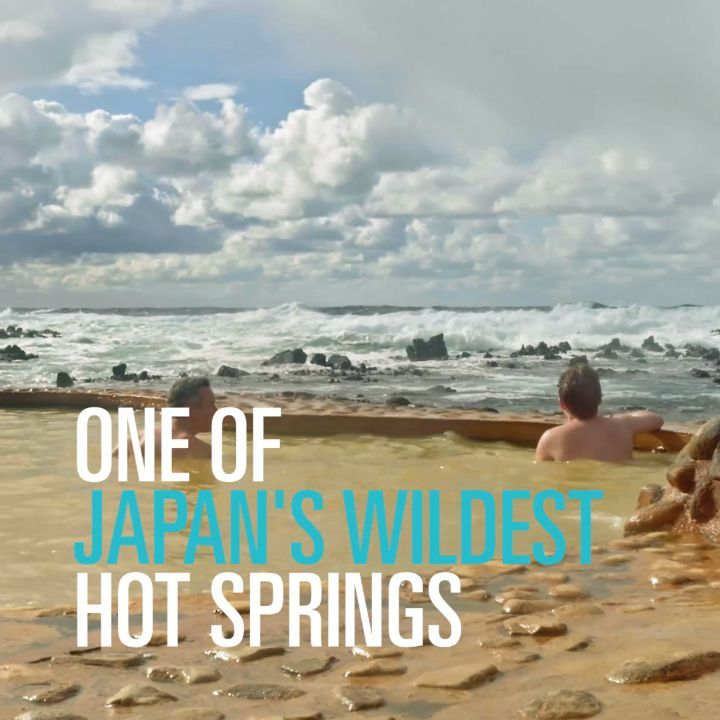 OCEANSIDE ONSEN Hours of staggering coastal views taken in from the comfort of t...