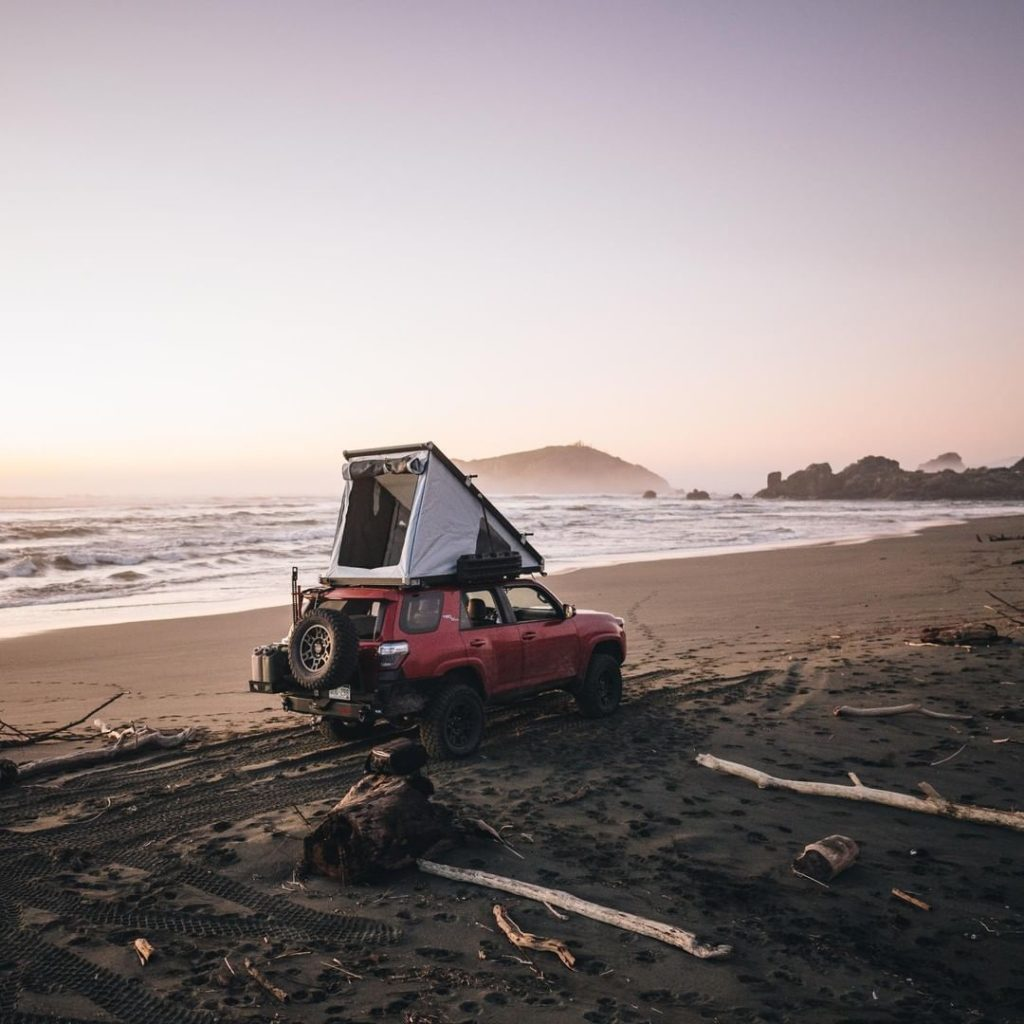 Book a room with an ocean view. #4Runner #LetsGoPlaces...