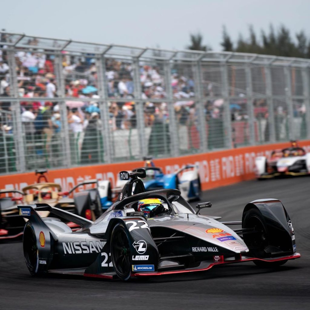 Nissan has scored its first podium in the all-electric @fiaformulae street racin...