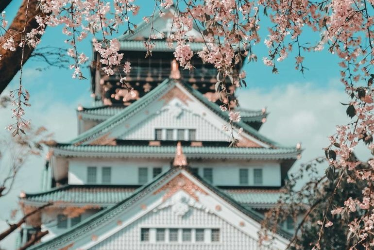 Osaka is one of Japan's best cities for the sakura and perhaps no place is finer...