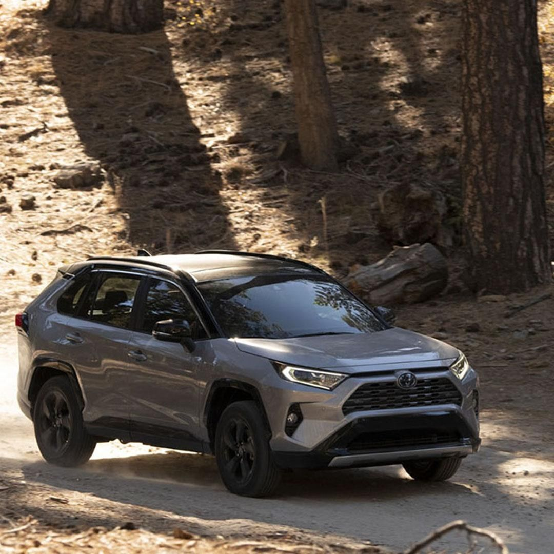 On Or Off Road The Rav4 Hybrid Handles It All Letsgoplaces