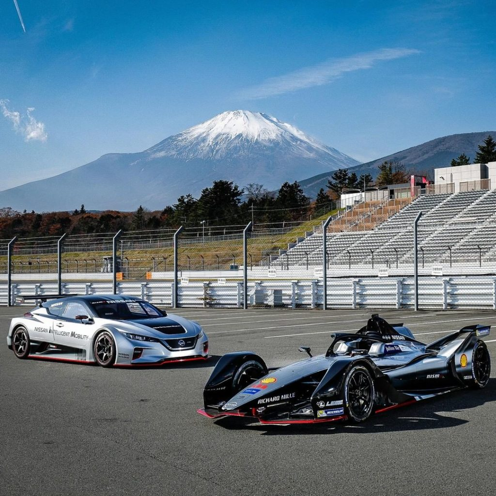 Who said electric had to be boring?  #Nissan #LEAFNISMO #RC #NissanFormulaE...