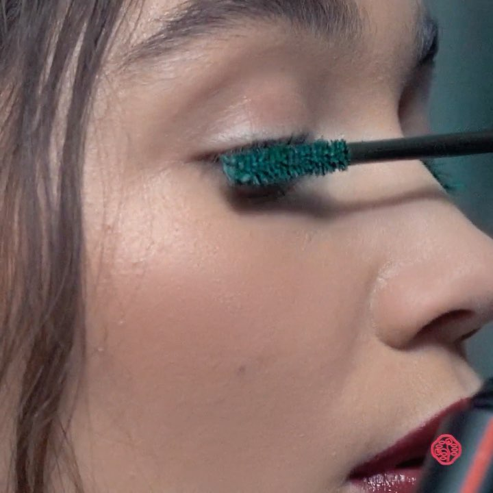 Give lush lashes the green light with ControlledChaos MascaraInk in Emerald Ener...