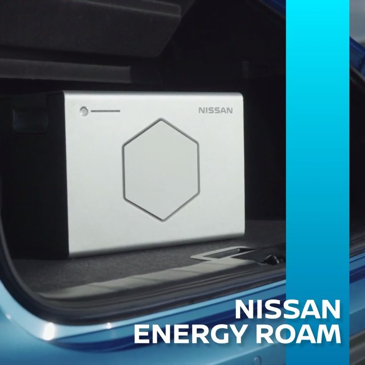 Nissan Energy ROAM uses second-life #EV batteries to deliver cleaner, sustainabl...