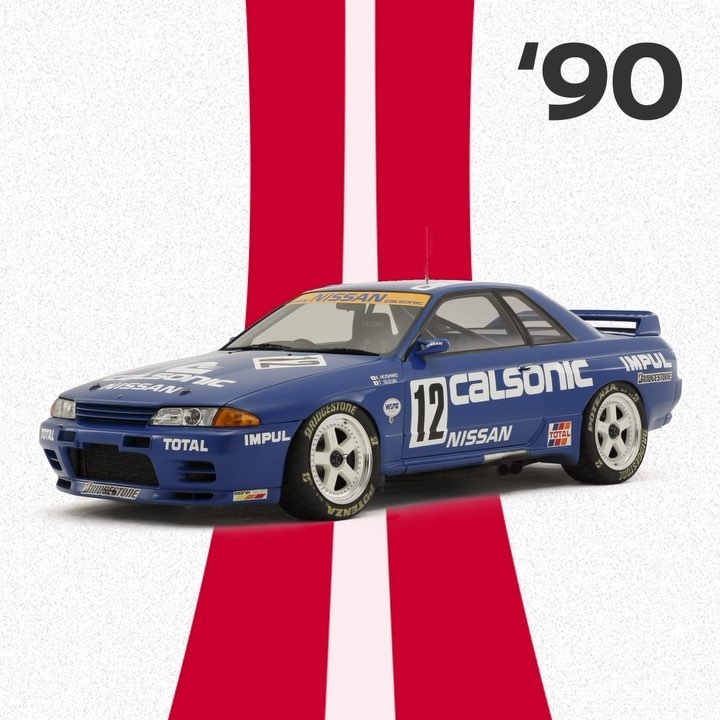 The #SKYLINE GT-R #BNR32, nicknamed #Godzilla, won at 1990 Macau GP, 1991 Bathur...