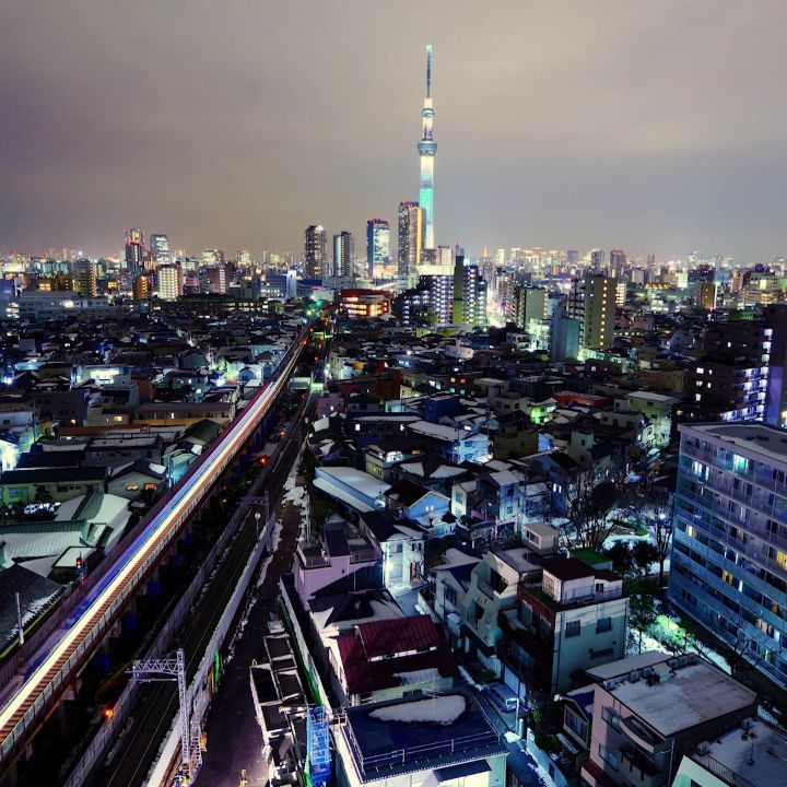 The seemingly endless field of lights that is Tokyo at night dazzles the senses....