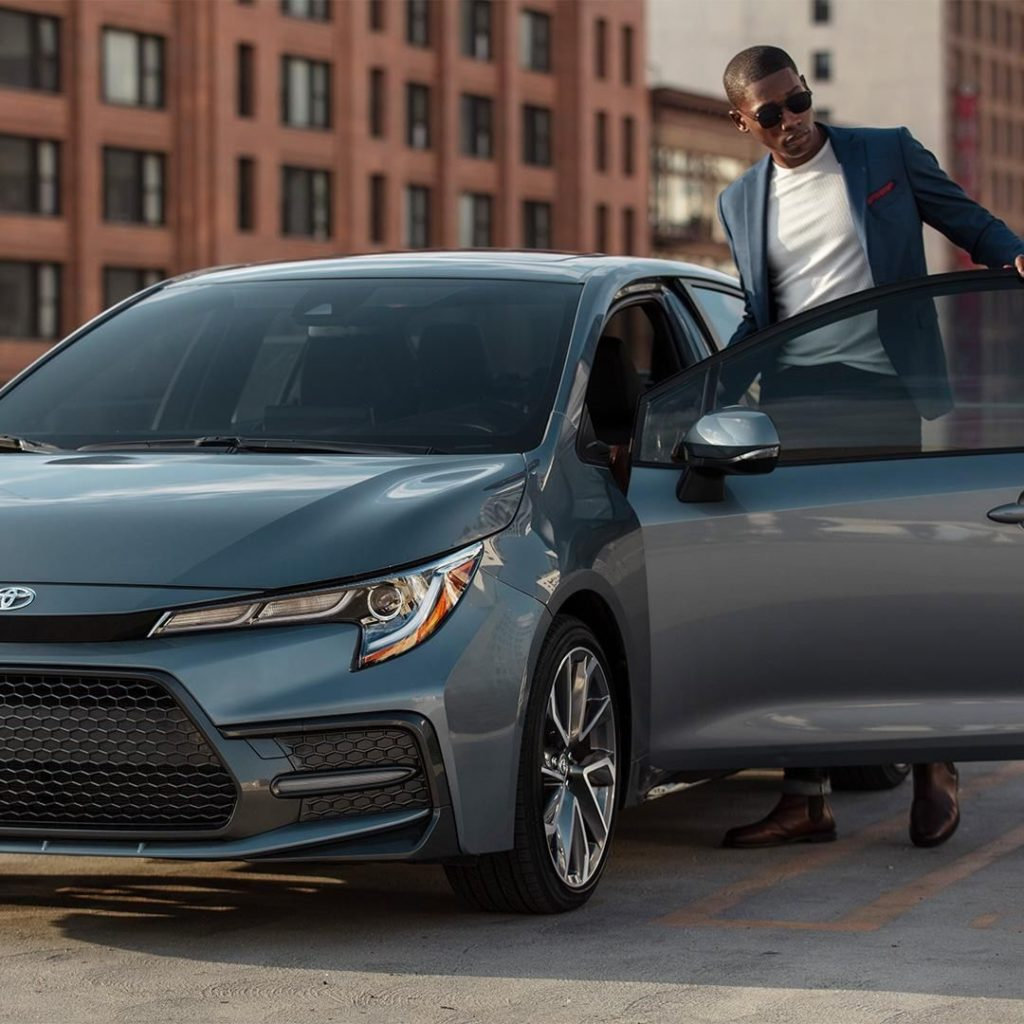 IT. IS. HERE. The greater than ever 2020 #Corolla! #LetsGoPlaces...