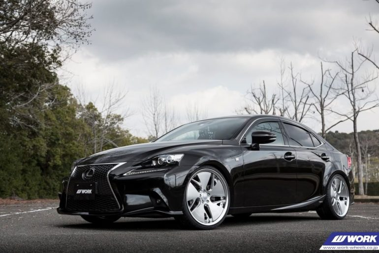 AUTO WORLD Lexus IS on NEW WORK Gnosis CVD #artofwheel #gnosiscvd...