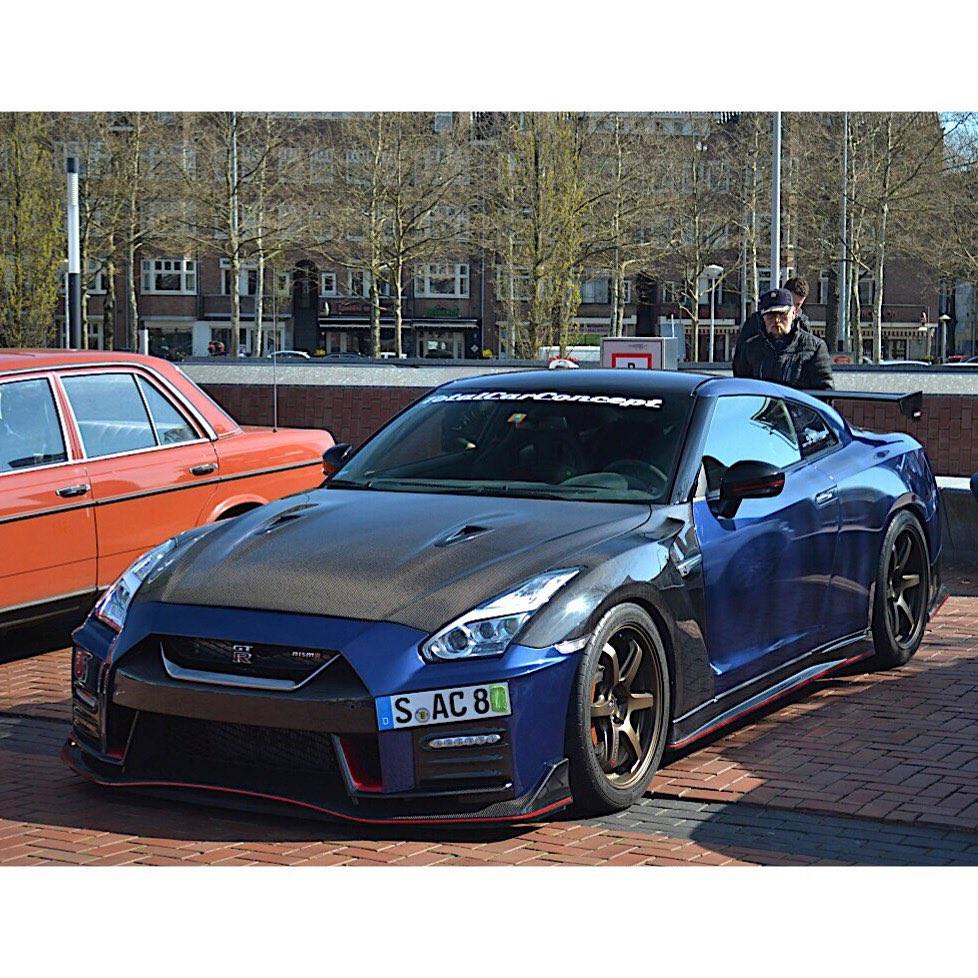 Looking beastly in blue  Photo @autogespot . . . . Follow the Crew:  @Nissan_GTR...