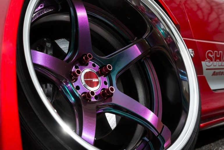 NEW WORK Emotion T5R2P (Asterism color ARK) #artofwheel #t5r2p Car: SHAFT Nissan...