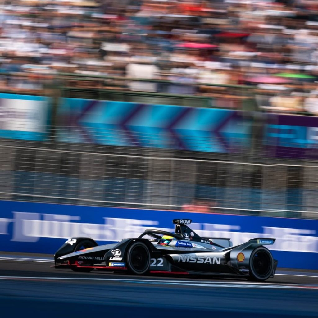 Gladiator of the track  #NissanFormulaE #FormulaE #RomeEPrix...