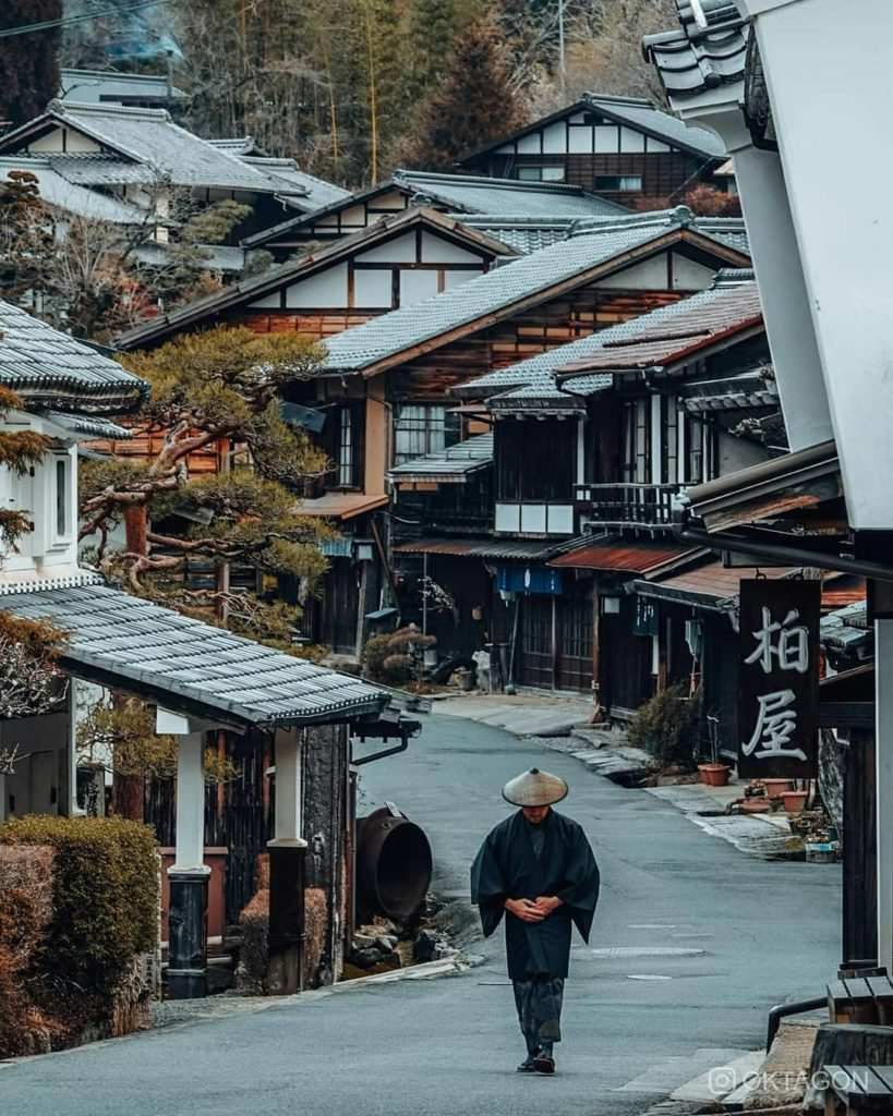 Slip back in time to historic Japan with a visit to the Edo Town of Tsumago-juku...