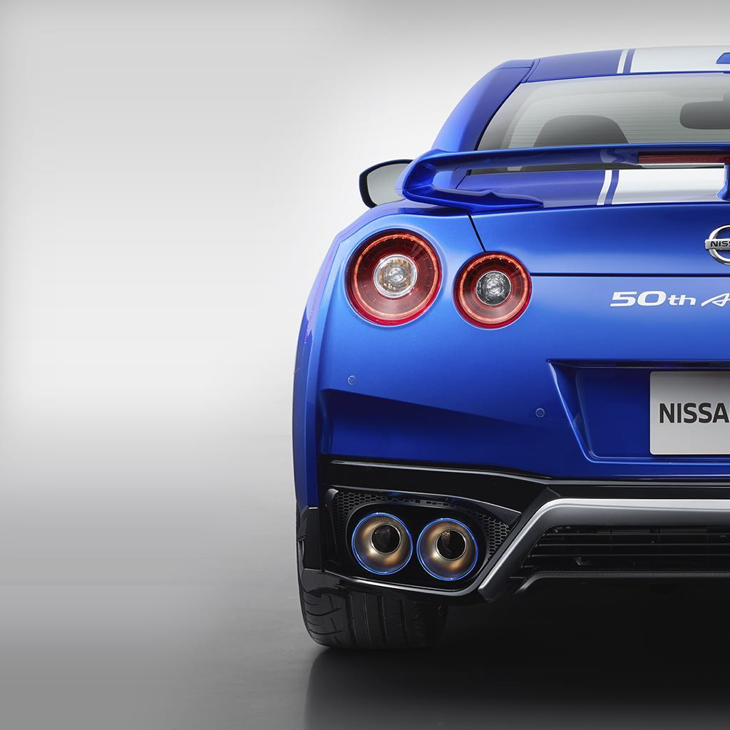 The 50th Anniversary Edition GT-R not only focuses on performance, but also matc...