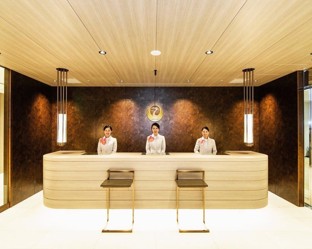 . JAL's International First Class Lounge at Narita International Airport has bee...