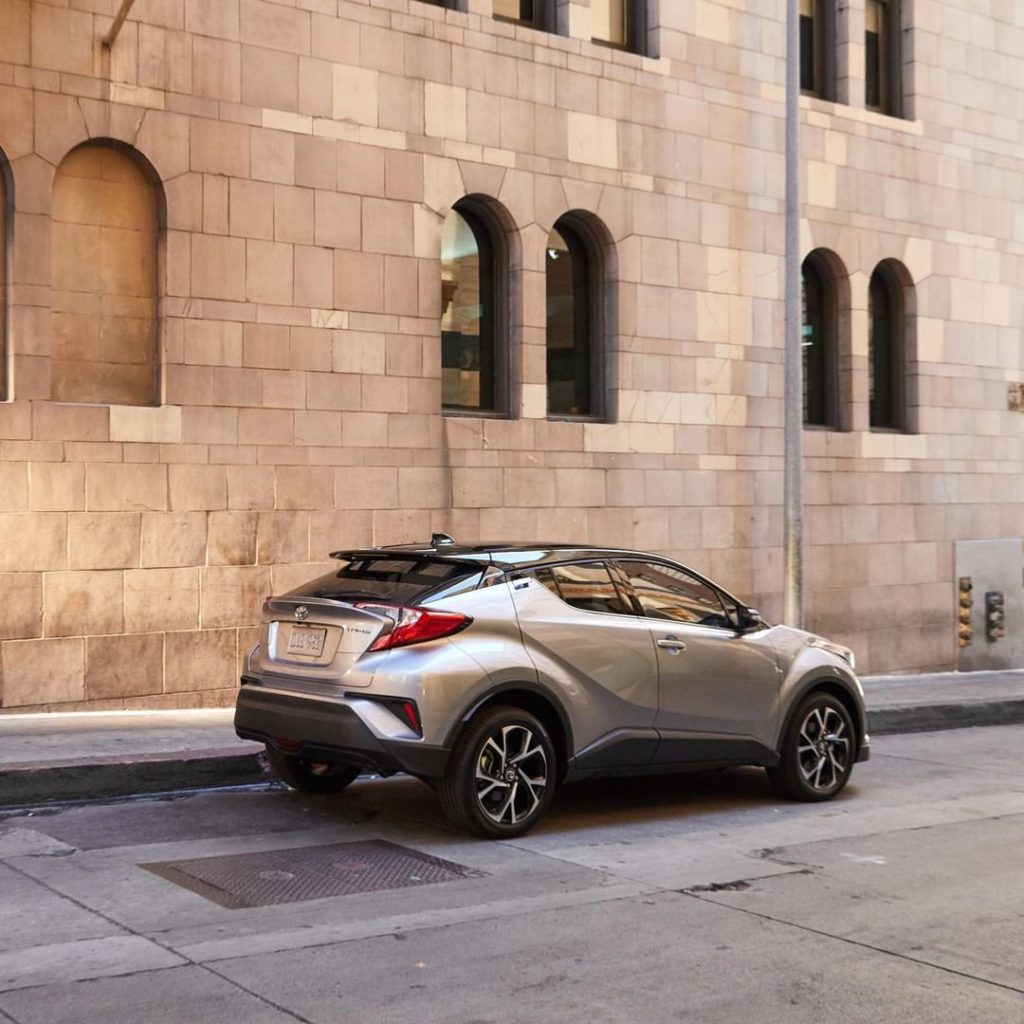 Step up your street style. #ToyotaCHR #LetsGoPlaces...
