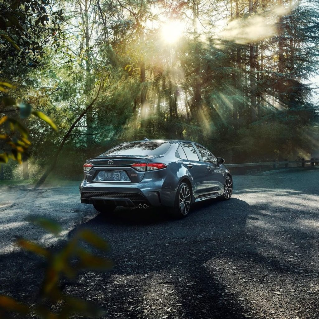 Standard LED taillights add to #Corolla's all-new good looks. #LetsGoPlaces...