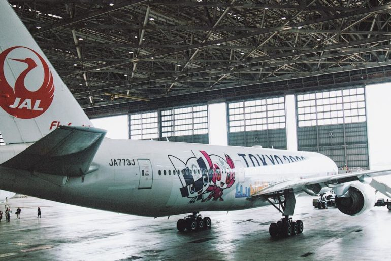 Introducing a specially designed aircraft by @japanairlines_jal  Take to the sk...