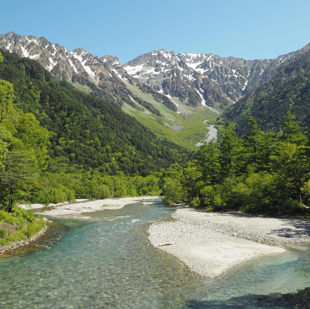 The hills are alive in the Japan Alps. Also known as the Japanese Alps, this nor...