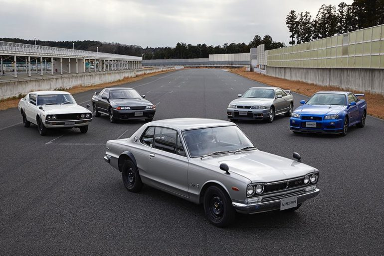 Interrupting your feed with a photo of these legendary #GTRs as we celebrate the...