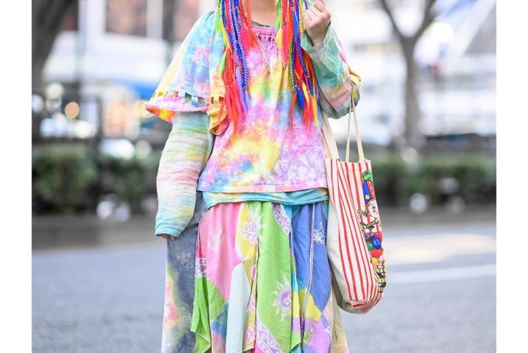 MaiMai (@mai_no.13) is a well known Japanese decora we've been street snapping a...