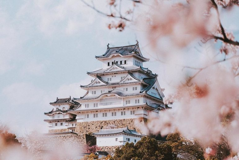 Himeji Castle is frequently named the most beautiful castle in Japan, and it's n...