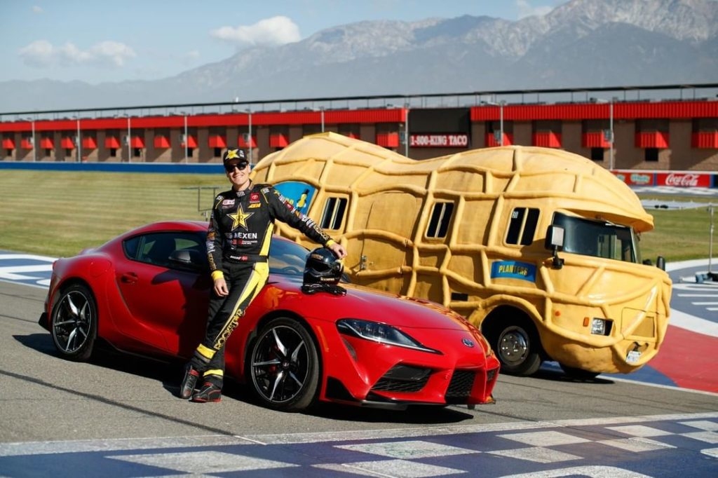 Watch @FredricAasbo and the #Supra battle it out on the track against @MrPeanutO...