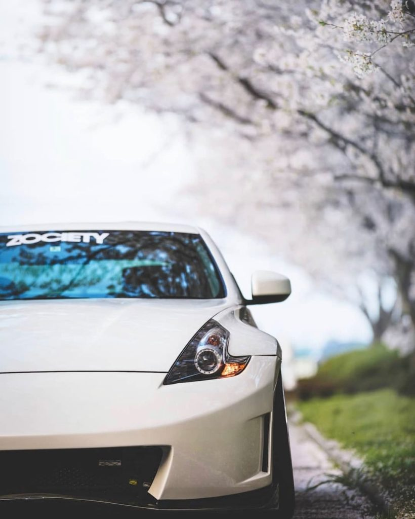 April showers, May flowers, you know the drill. #TueZday #Nissan #370Z &: @yaneu...