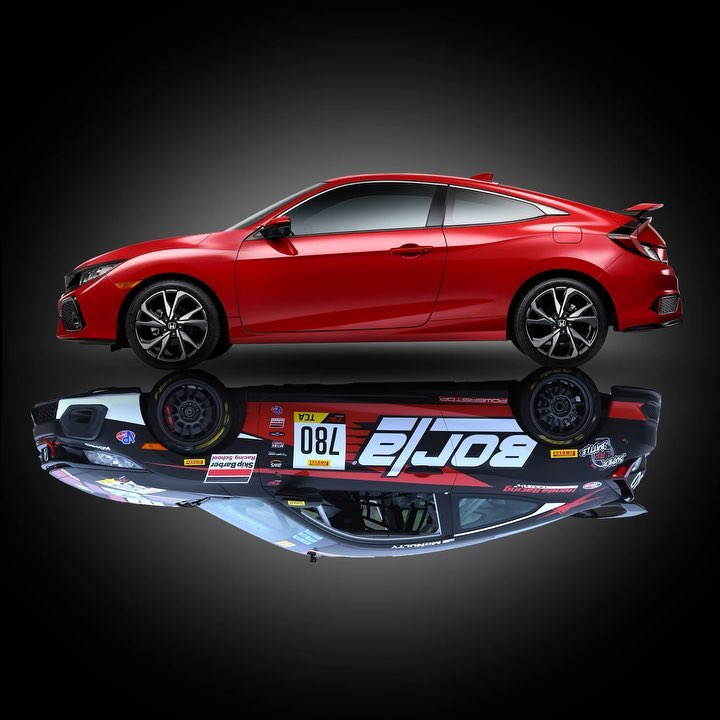 We packed the same racing spirit of the Civic Si racecar into the Civic Si with ...