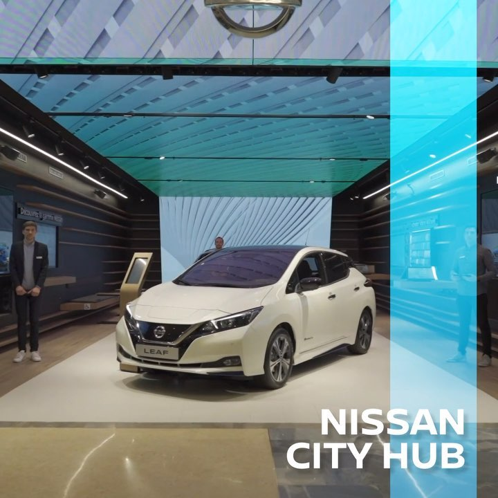 Nissan City Hub is a revolutionary new approach between e-commerce and a concept...