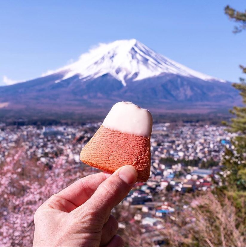 Mount Fuji has never tasted so sweet! ・ Thanks to @itd_be_rude_not_to for the cu...