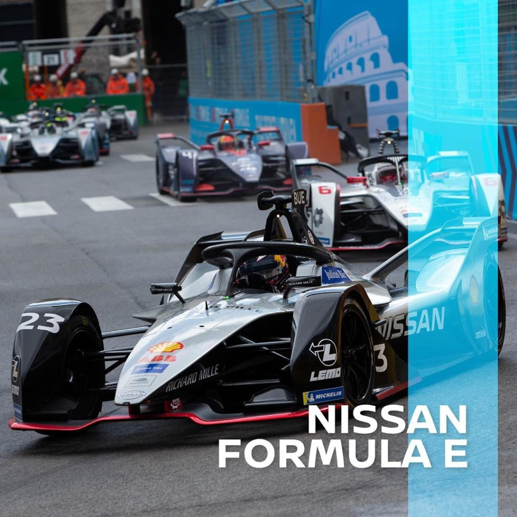 Going 62 mph in 2.8 seconds, the #Nissan e.dams team gears up for the #MonacoEPr...