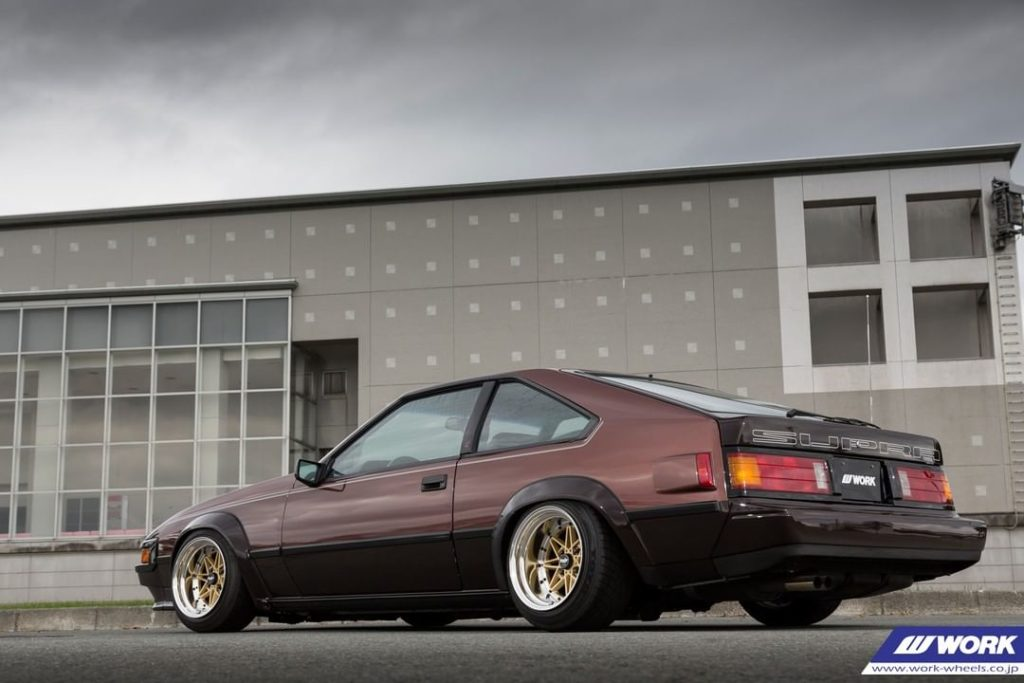 POWER SOUND M Toyota Celica XX on WORK Equip03 #artofwheel #equip03...