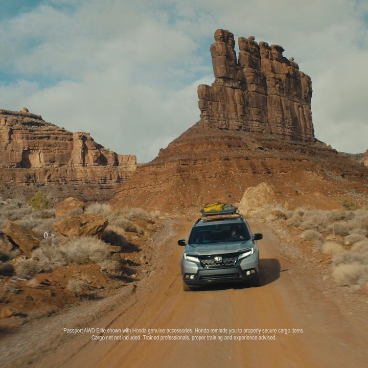 The all-new Honda Passport helps you turn inspiration into action.  #300ftChalle...
