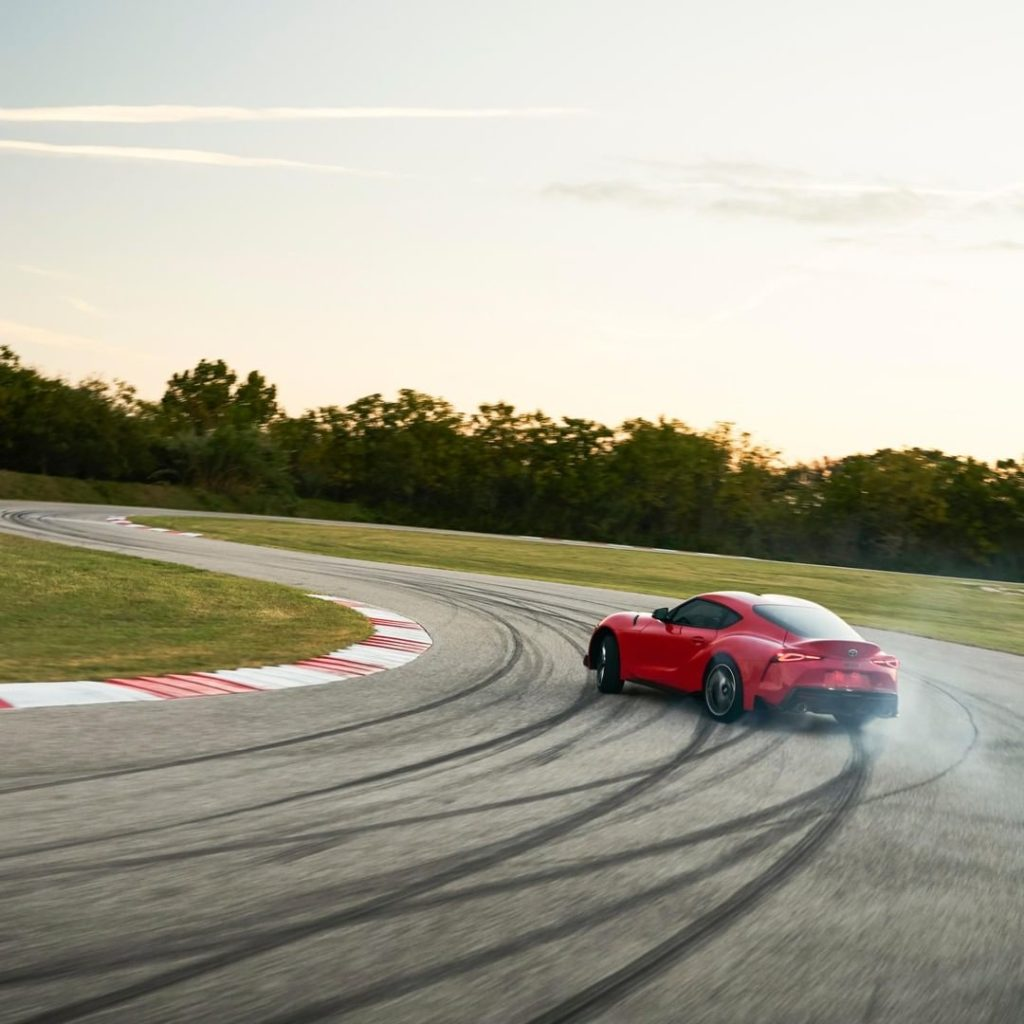 This is the way a true sports car should feel. #Supra #LetsGoPlaces...