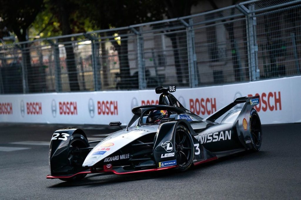 The #Nissanedams team will take it's @fiaformulae skills to the most famous stre...