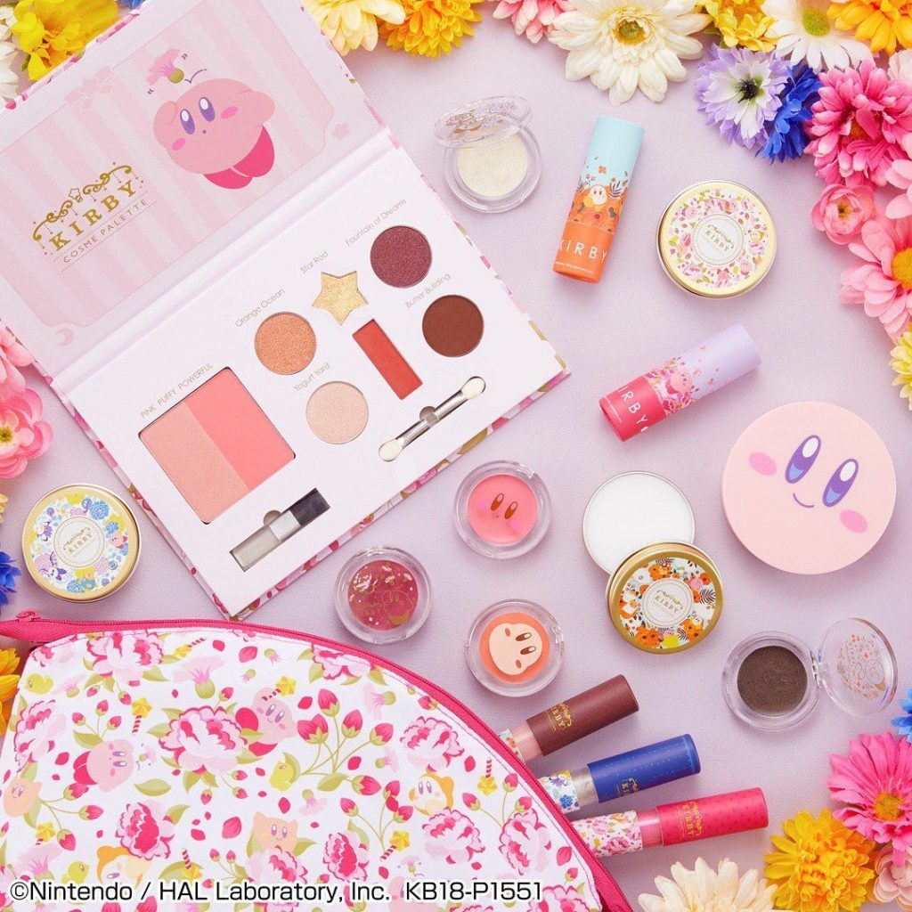 Who's ready for this super cute Kirby makeup collection being released later thi...
